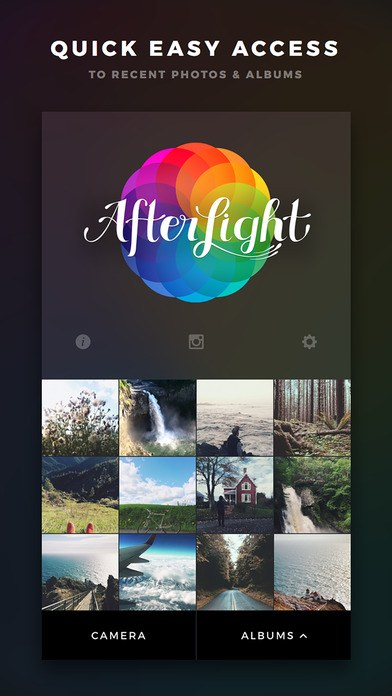 Best Instagram Content Editing Apps Afterlight 2