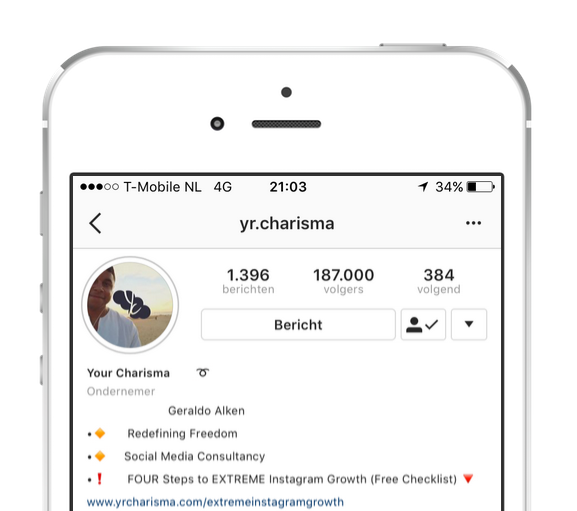 Instagram growth service by your charisma