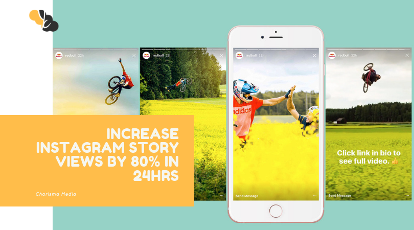 Increase Instagram Story Views by 80% in 24Hrs