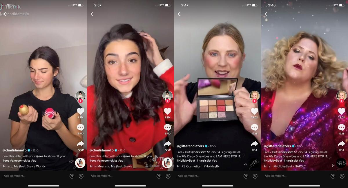 hashtags on tiktok