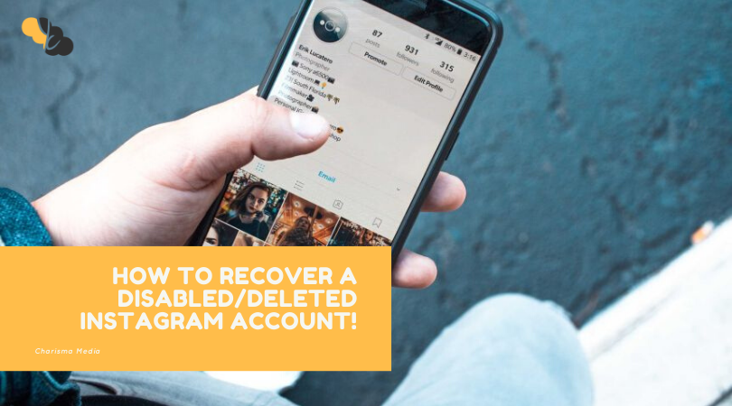 How to Recover a DISABLED/DELETED Instagram Account