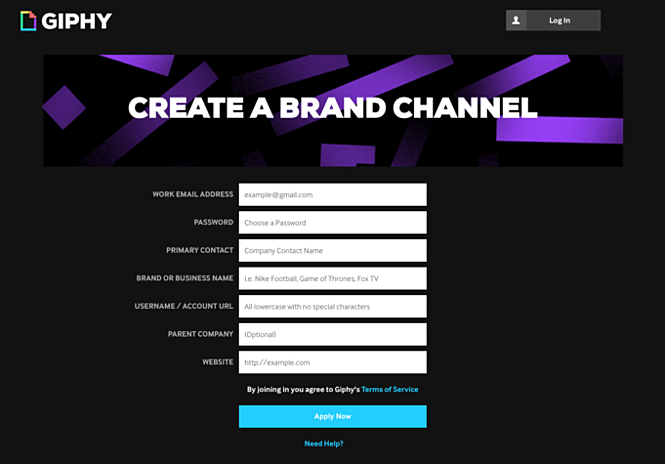 verified brand on giphy