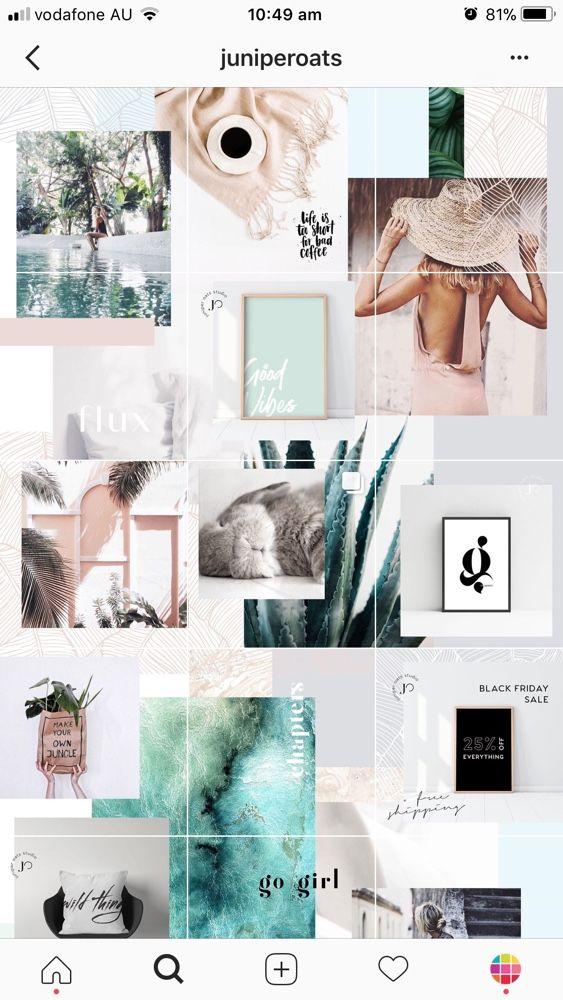 Instagram feed design