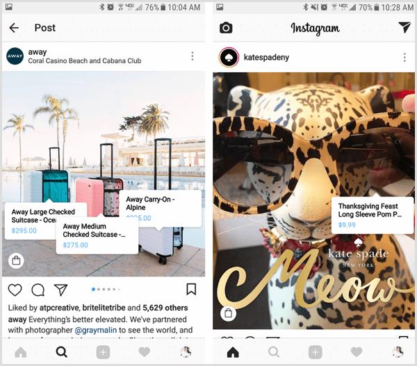 instagram shop tip