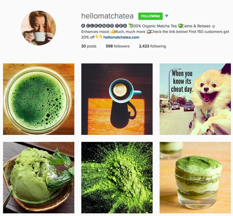 top selling products on instagram