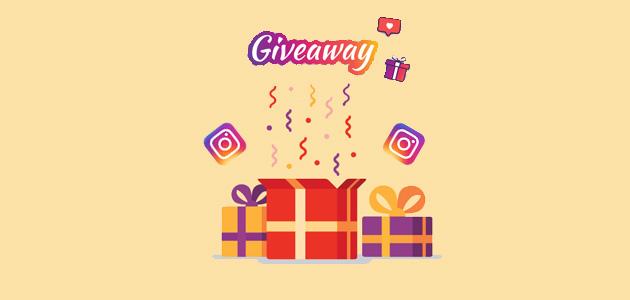 hosting instagram giveaway