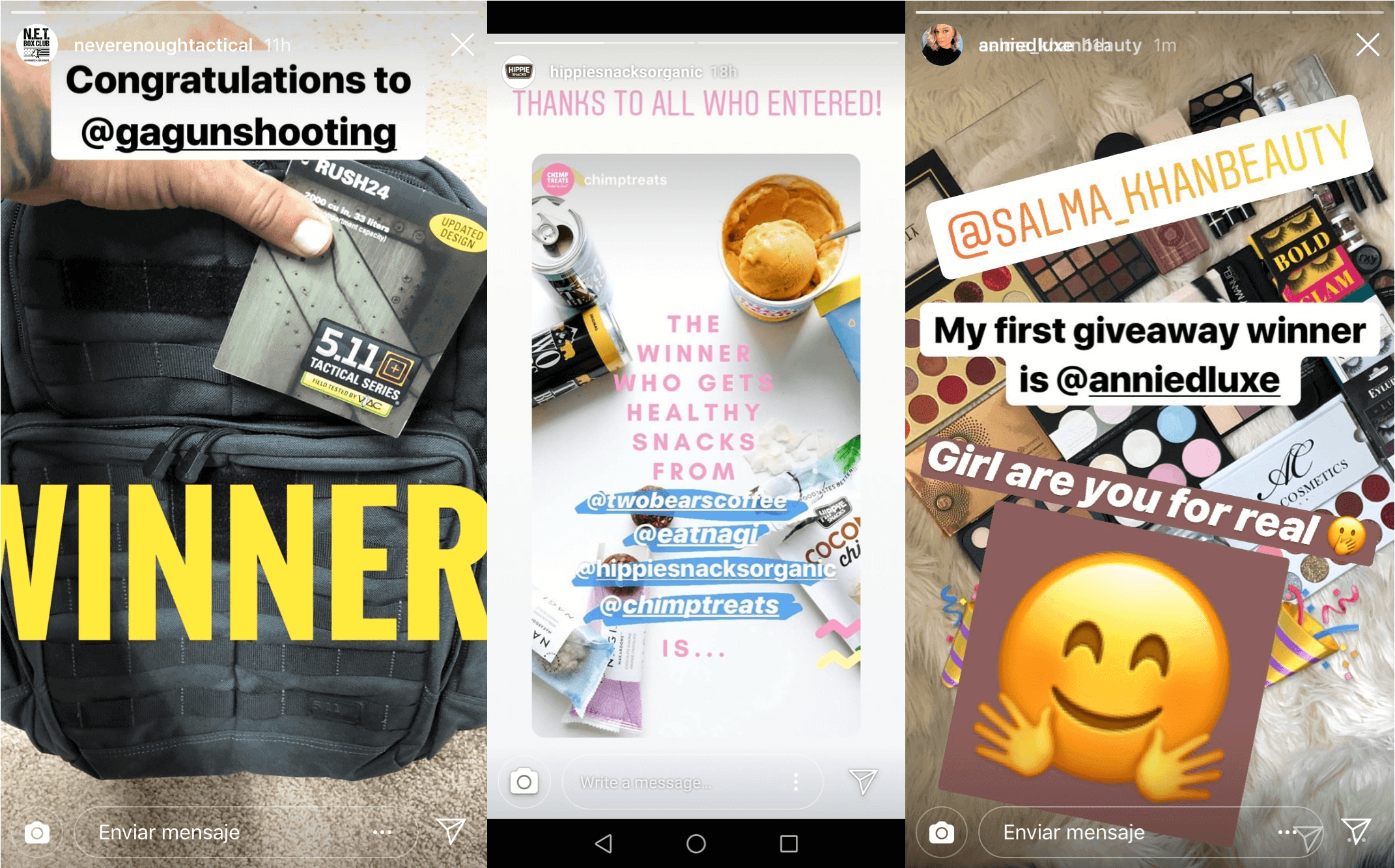 instagram giveaway tips