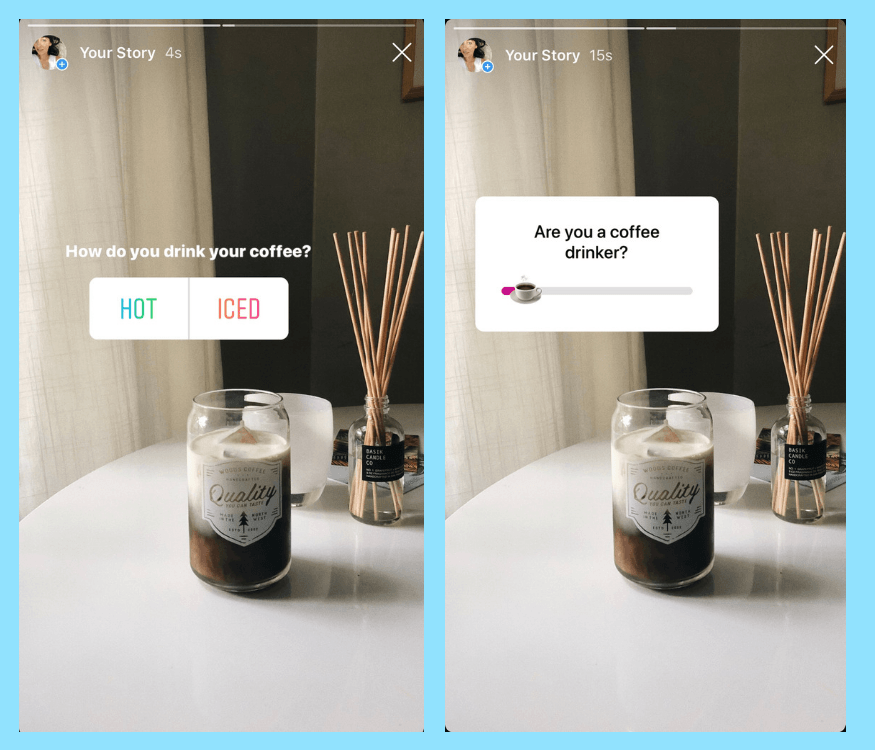 creative use for Instagram Story Polls