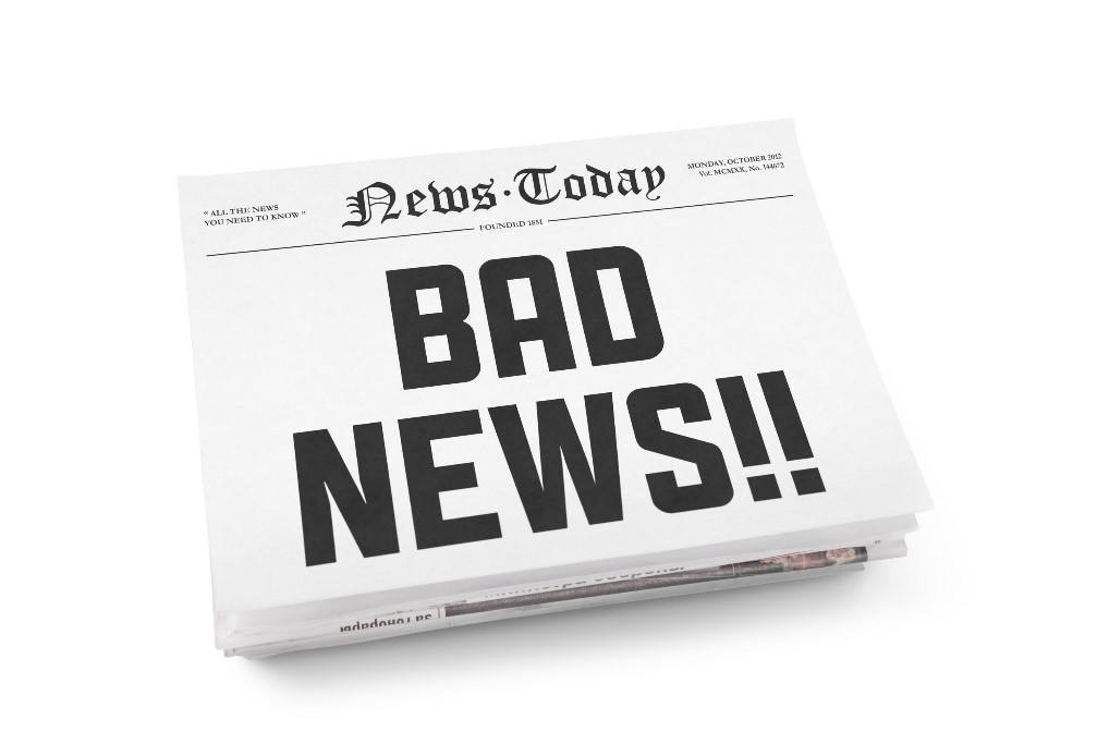 respond to negative news